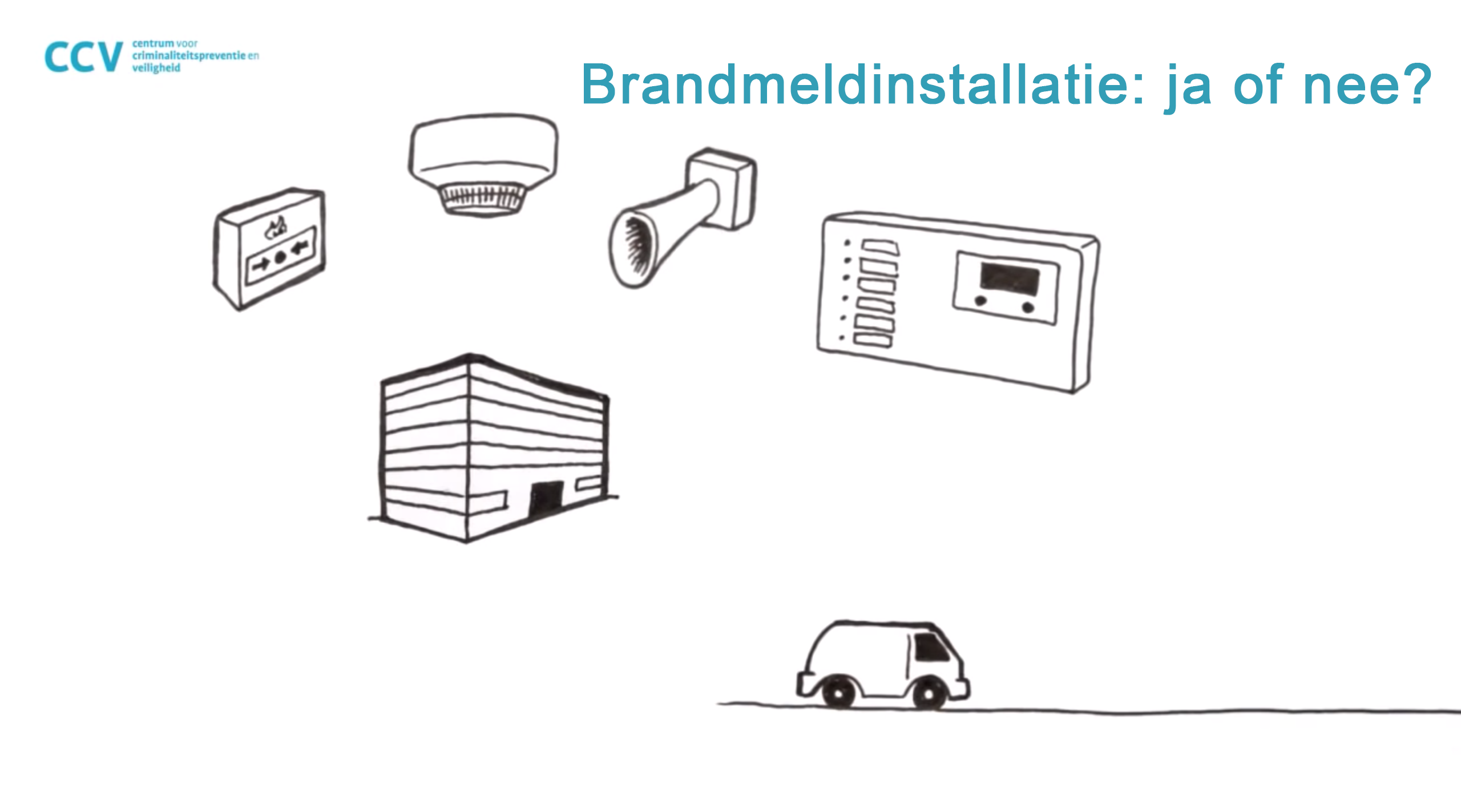 Brandmeldinstallatie: ja of nee?